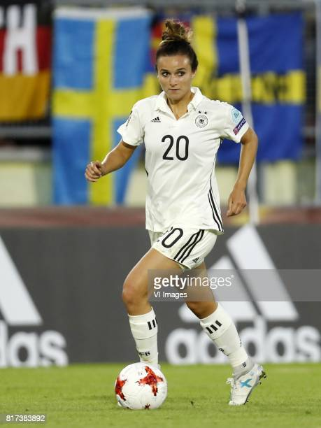 Lina Magull of Germany women during the UEFA WEURO 2017 Group B group stage match between Germany and Sweden at the Rat Verlegh stadium on July 17...