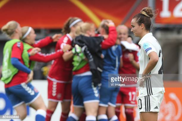 Lina Magull of Germany women during the UEFA WEURO 2017 quarter finale match between Germany and Denmark at the Sparta stadium Het Kasteel on July 30...