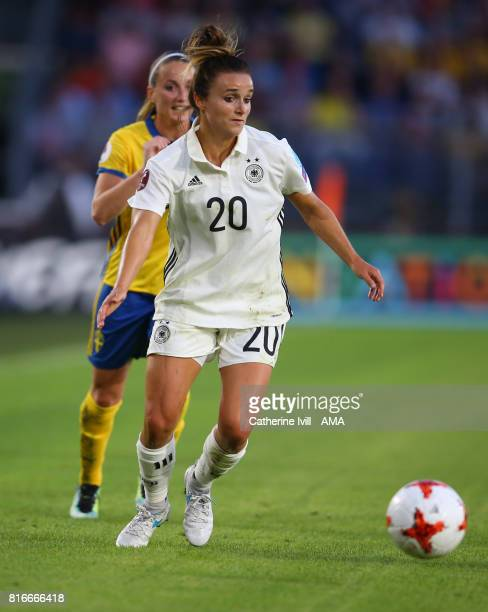 Lina Magull of Germany Women during the UEFA Women's Euro 2017 Group B match between Germany and Sweden at Rat Verlegh Stadion on July 17 2017 in...
