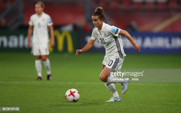 Lina Magull of Germany Women during the UEFA Women's Euro 2017 match between Russia and Germany at Stadion Galgenwaard on July 25 2017 in Utrecht...