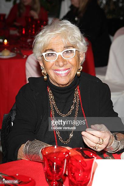Lina Wertmuller attends the opening ceremony of the 12th Annual Capri Hollywood International Film Festival at the 'Certosa di San Giacomo' on...