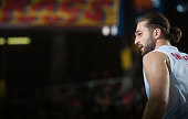 Linas Kleiza #11 of EA7 Emporio Armani Milan in action during the 20142015 Turkish Airlines Euroleague Basketball Regular Season Date 7 game between...