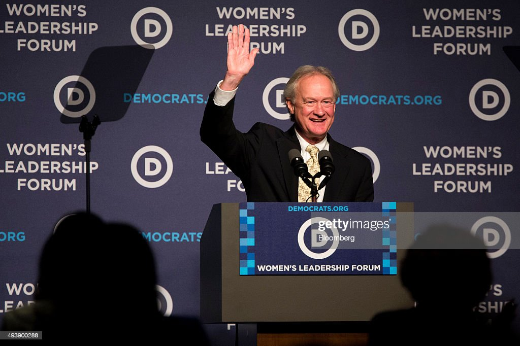 Democratic Presidential Candidates Speak At DNC's Women's Leadership Forum