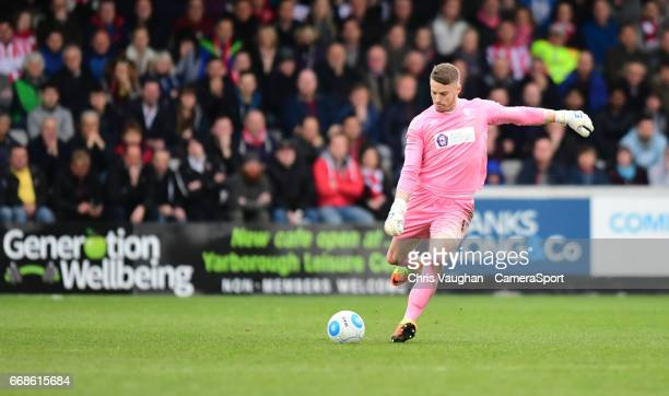 Lincoln City's Paul Farman during the Vanarama National League match between Lincoln City and Torquay United at Sincil Bank Stadium on April 14 2017...