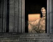 Lincoln Memorial at sunrise