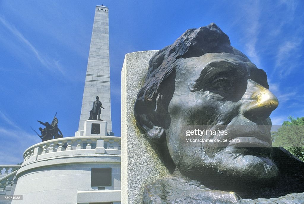 'Lincoln Memorial, Springfield, Illinois' : Stock Photo