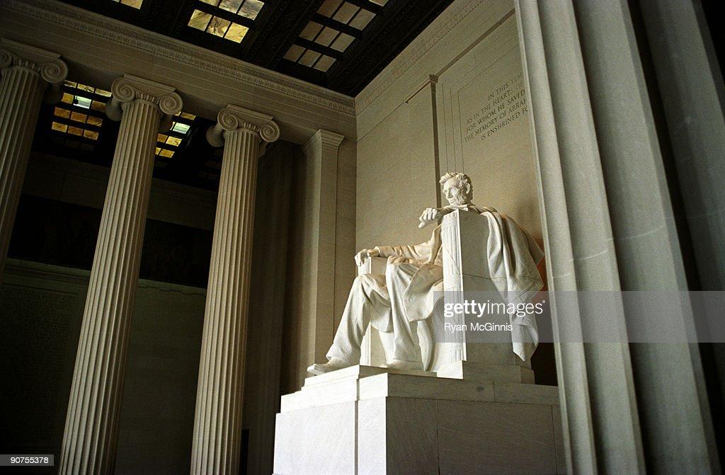 Lincoln Memorial  Statue : Stock Photo