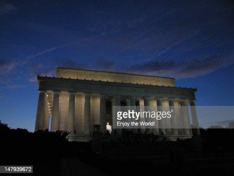 Lincoln Memorial, Washington, DC : Stock Photo