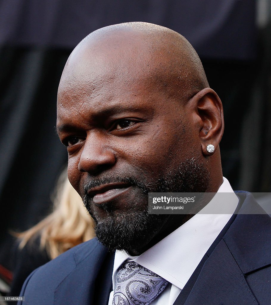 Lincoln Motor Company Ambassador Emmitt Smith attends Ford Lincoln Unveils New Brand Direction Lincoln With Emmitt Smith at Lincoln Center on December 3, 2012 in New York City.