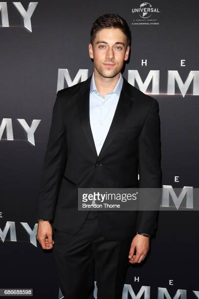 Lincoln Younes arrives ahead of The Mummy Australian Premiere at State Theatre on May 22 2017 in Sydney Australia