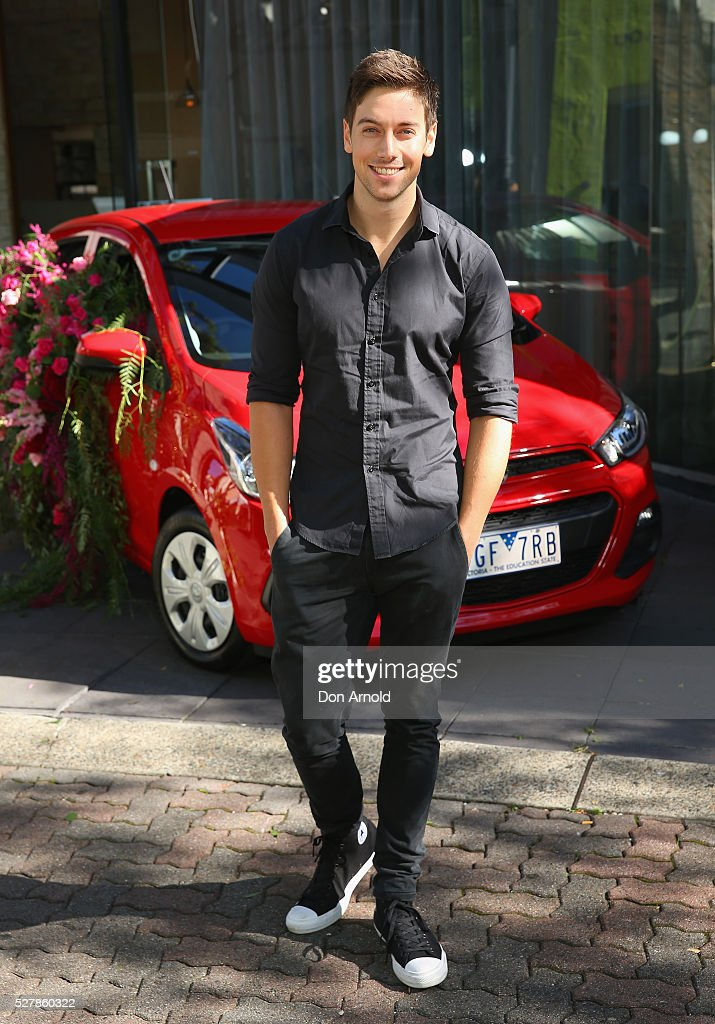 Lincoln Younes attends the Holden Spark launch brunch on May 4, 2016 in Sydney, Australia.