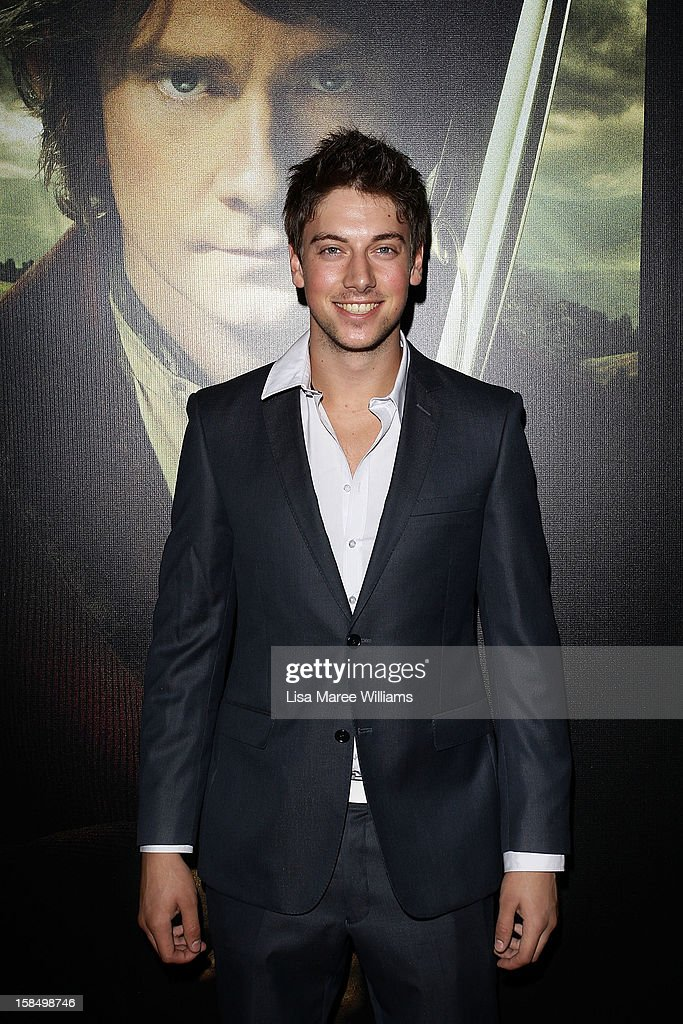Lincoln Younes attends the Sydney premiere of 'The Hobbit: An Unexpected Journey' at George Street V-Max Cinemas on December 18, 2012 in Sydney, Australia.