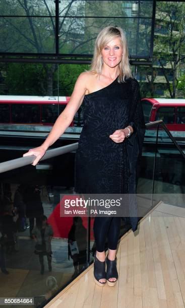 Linda Barker arrives at the Northern Ballet's The Great Gatsby at the Sadler's Wells theatre in London