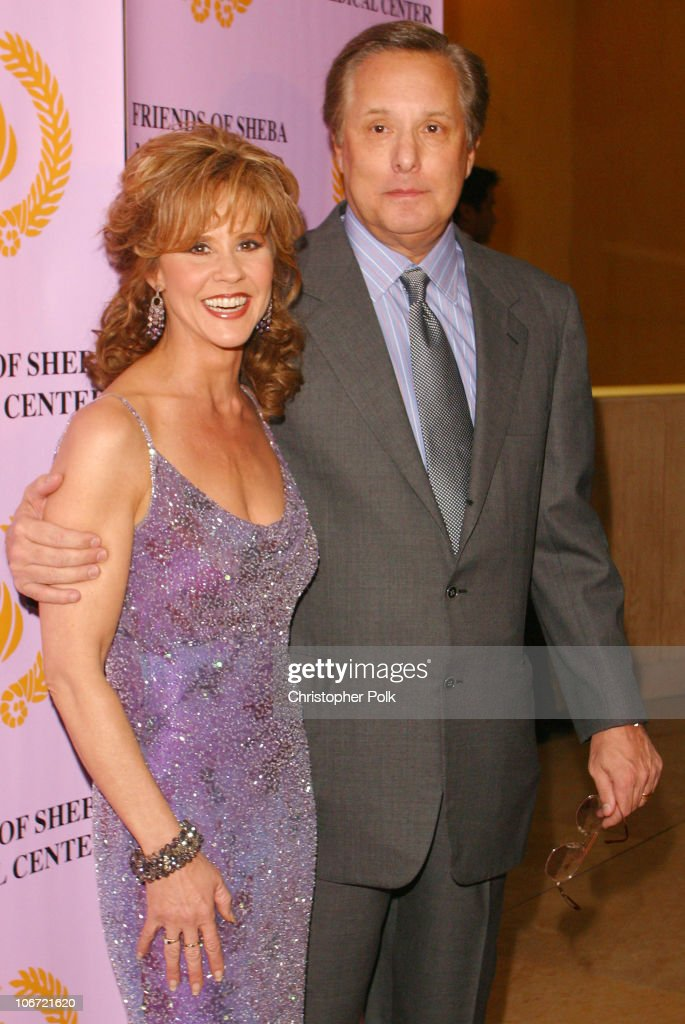 Linda Blair and William Friedkin during Friends of Sheba Medical Center Annual awards Gala Honoring filmmaker William Freidkin at Beverly Hilton in...
