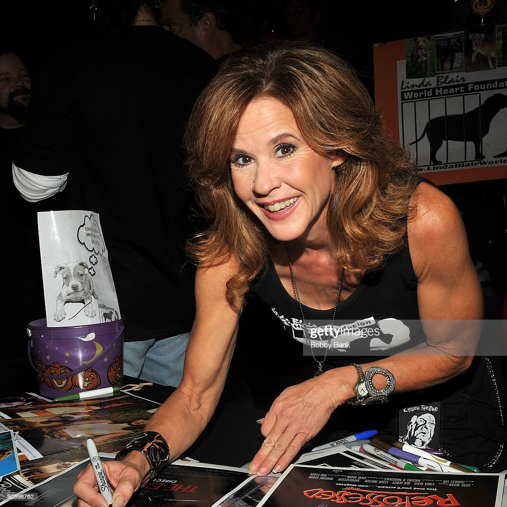 Linda Blair attends the Chiller Theatre Expo at the Hilton Parsippany on October 31 2009 in Parsippany New Jersey