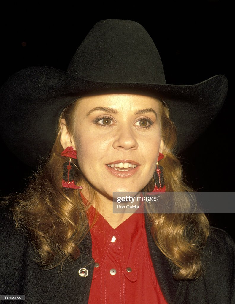 Linda Blair during Crown Royal Horse Show at LA Equestrian Center in Burbank California United States