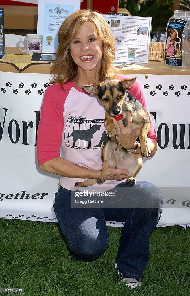 Linda Blair during KickOff Party for 'Dine With Your Dog Day' at Hyatt Regency Century Plaza in Century City California United States