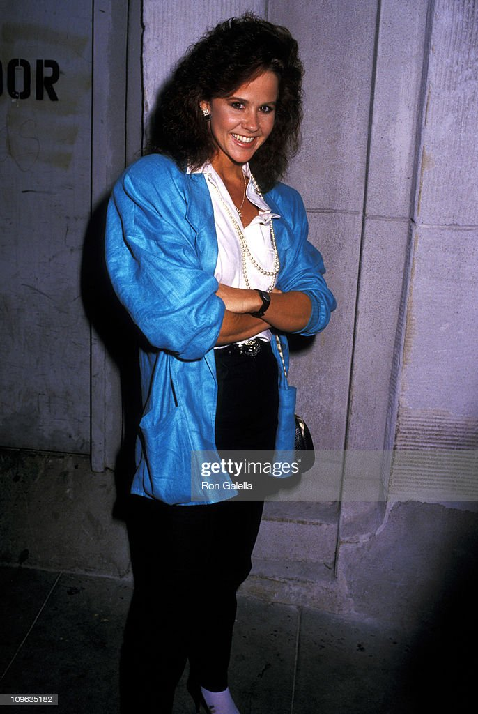 Linda Blair during Linda Blair Sighting at DGA Theater in West Hollywood September 9 1987 at DGA Theater in West Hollywood California United States