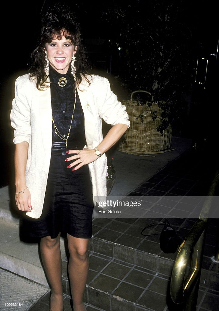 Linda Blair during Linda Blair Sighting at Nicky Blair's Restaurant in Hollywood June 4 1986 at Nicky Blair's Restaurant in Hollywood California...