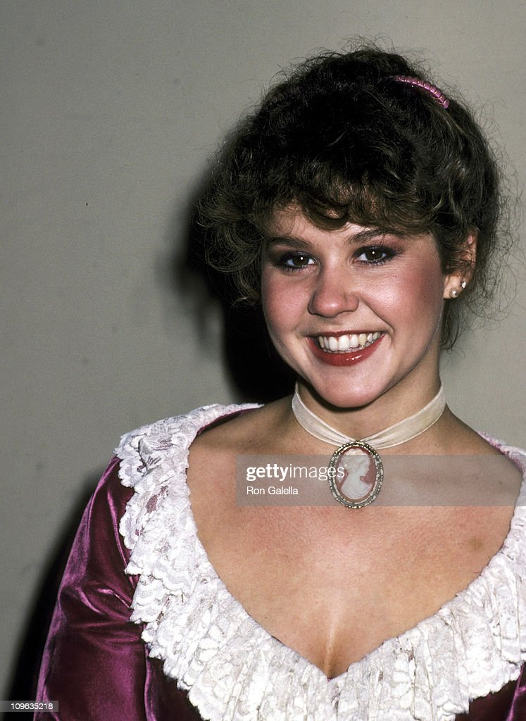 Linda Blair during On the Set of the Film 'Hell Night' January 13 1981 at Raleigh Studios in Hollywood California United States