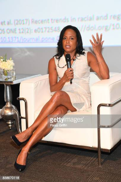 Linda Blount at 'The Immortal Life Of Henrietta Lacks' Viewing Panel Discussion with Renee Elise Goldsberry Dr Jessica Shepherd Dr Jackie Walters And...