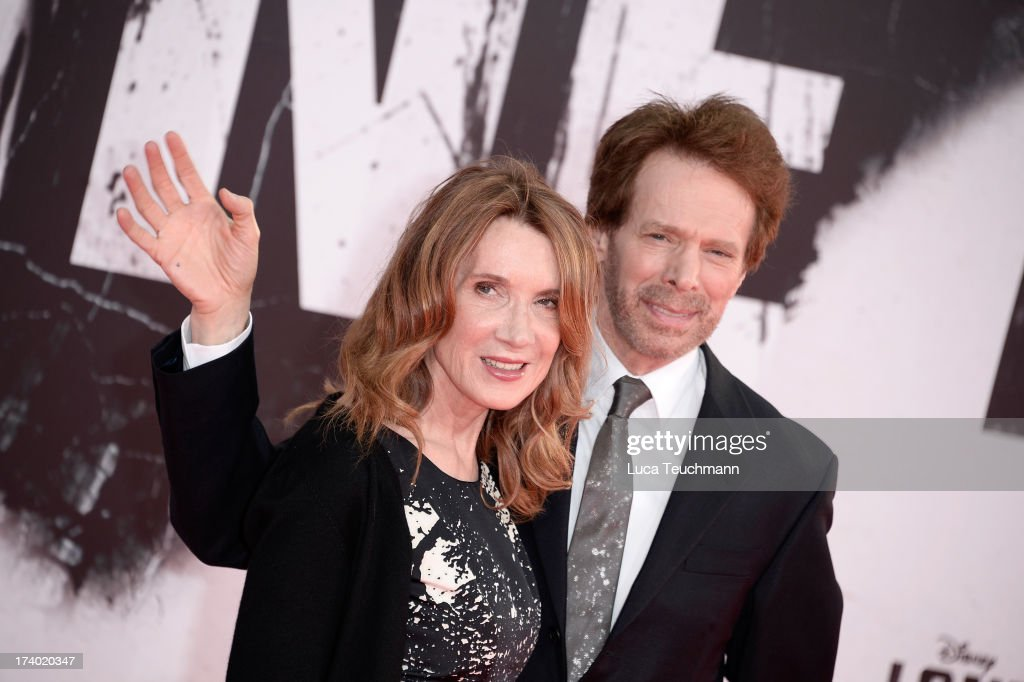 <a gi-track='captionPersonalityLinkClicked' href=/galleries/search?phrase=Linda+Bruckheimer&family=editorial&specificpeople=227986 ng-click='$event.stopPropagation()'>Linda Bruckheimer</a> and <a gi-track='captionPersonalityLinkClicked' href=/galleries/search?phrase=Jerry+Bruckheimer&family=editorial&specificpeople=203316 ng-click='$event.stopPropagation()'>Jerry Bruckheimer</a> attend the premiere of 'Lone Ranger' at Sony Centre on July 19, 2013 in Berlin, Germany.