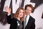 Linda Bruckheimer and Jerry Bruckheimer attend the premiere of 'Lone Ranger' at Sony Centre on July 19 2013 in Berlin Germany