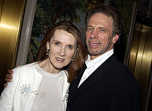 Linda Bruckheimer and Jerry Bruckheimer producer during 'Veronica Guerin' Special Screening and After Party in New York City at MGM Screening Room...