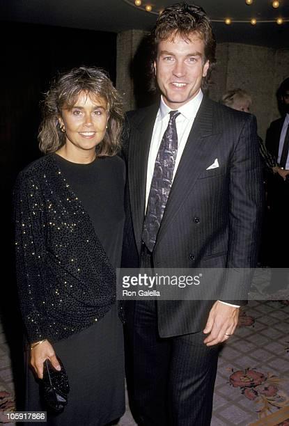 Linda Callahan and John Callahan during CBS TV Affiliates Dinner Celebration at Century Plaza Hotel in Los Angeles California United States