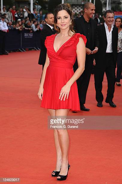 Linda Cardellini arrives at the Closing Ceremony of the 37th Deauville American Film Festival on September 10 2011 in Deauville France