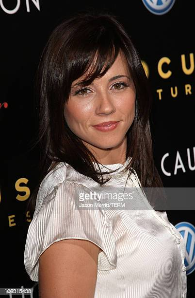 Linda Cardellini arrives at the Los Angeles Premiere of 'Lust Caution' presented by Focus Features at the Academy of Motion Pictures Arts and...
