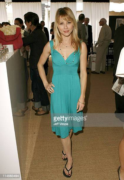 Linda Cardellini during Coach Fragrance Launch to Benefit EBMRF in Los Angeles California United States