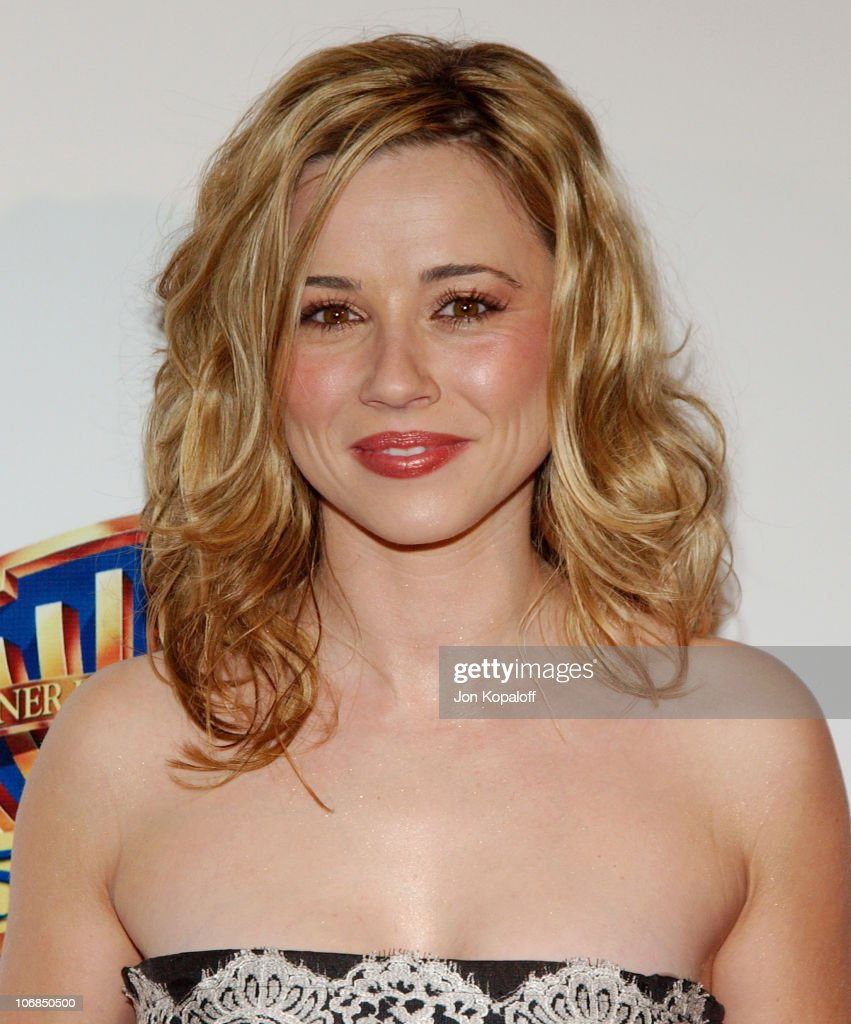 Linda Cardellini during Warner Bros. Television and Warner Home Video Celebrate 50 Years Of Quality TV - Arrivals at Warner Bros. Studios in Burbank, California, United States.