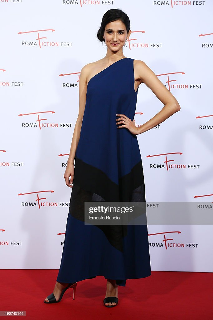 Linda Caridi attends the 'Lea' red carpet during the RomaFictionFest 2015 at Auditorium Conciliazione on November 11, 2015 in Rome, Italy.