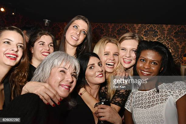 Linda Cormier Wendy Vettor Corine Michel Florence Precy Sylvie Ortega Munoz Julie Jardon and guests attend Julie Jardon 22 years Anniversary Party at...