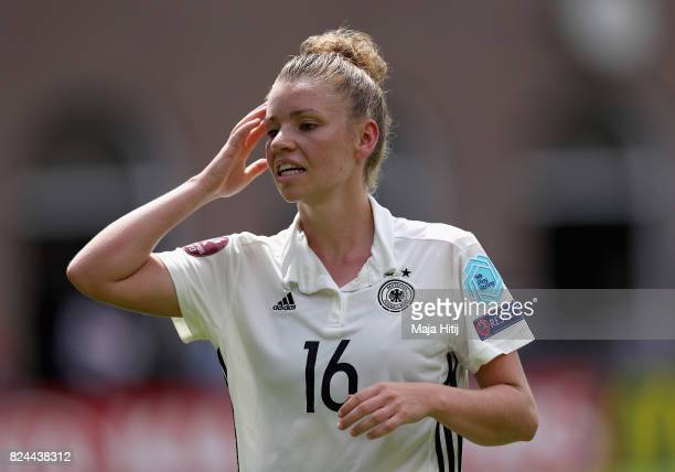 Linda Dallmann of Germany reacts during the UEFA Women's Euro 2017 Quarter Final match between Germany and Denmark at Sparta Stadion on July 30 2017...