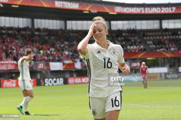 Linda Dallmann of Germany women during the UEFA WEURO 2017 quarter finale match between Germany and Denmark at the Sparta stadium Het Kasteel on July...