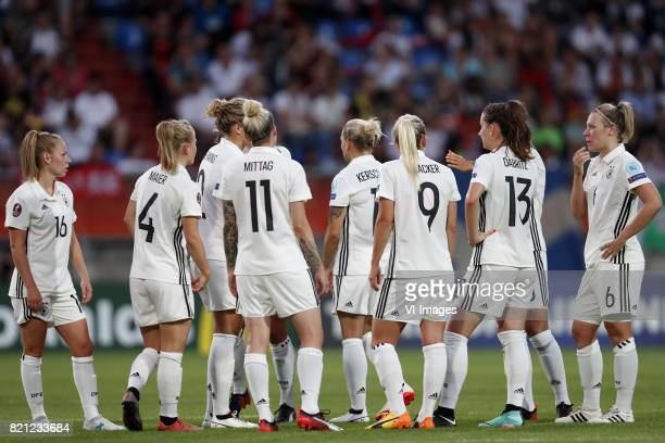 Linda Dallmann of Germany women Leonie Maier of Germany Women Kathrin Julia Hendrich of Germany women Anja Mittag of Germany women Isabel Kerschowski...