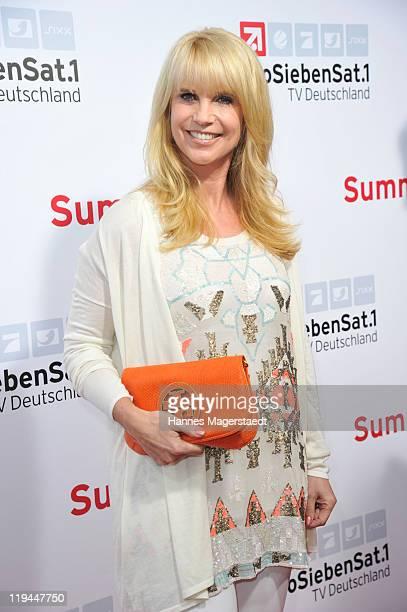 Linda de Mol attends the ProSiebenSat 1 Summertime at Alte Kongresshalle on July 20 2011 in Munich Germany