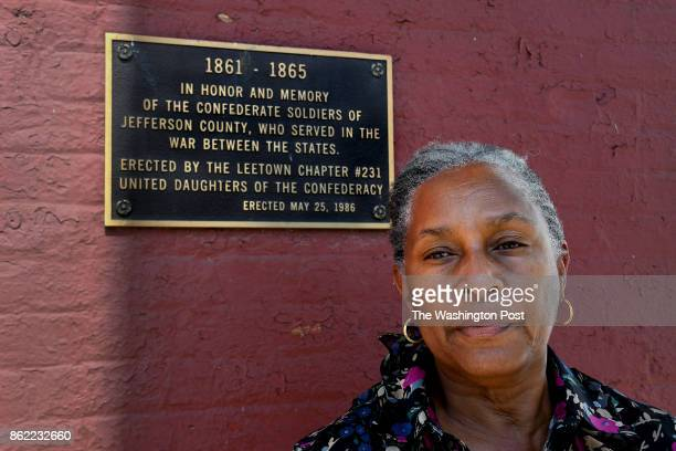Linda Downing Ballard is one of the concerned women in Charles Town who is offended by the plaque that honors Confederate soldiers A group of African...
