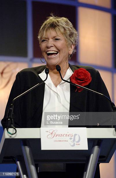 Linda Ellerbee during American Women in Radio Television 30th Annual Gracie Allen Awards Show at New York Marriot Marquis Hotel in New York City New...