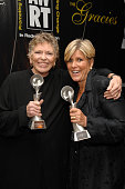 Linda Ellerbee winner of Outstanding Children/Adolescent award and Suze Orman winner of Outstanding Talk Show
