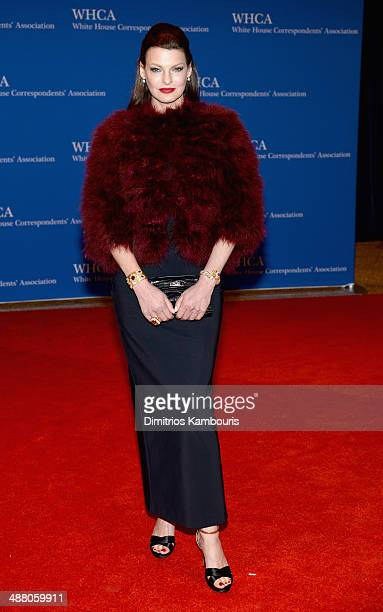 Linda Evangelista attends the 100th Annual White House Correspondents' Association Dinner at the Washington Hilton on May 3 2014 in Washington DC