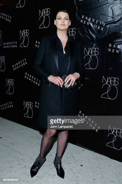 Linda Evangelista attends the NARS' 20th Anniversary Celebration at Barneys New York on September 4 2014 in New York City