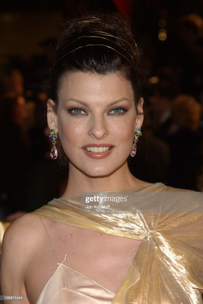 Linda Evangelista during 2004 Vanity Fair Oscar Party at Mortons in ... Roythomsonhall