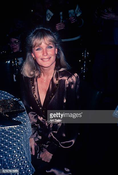 Linda Evans at a formal event circa 1970 New York