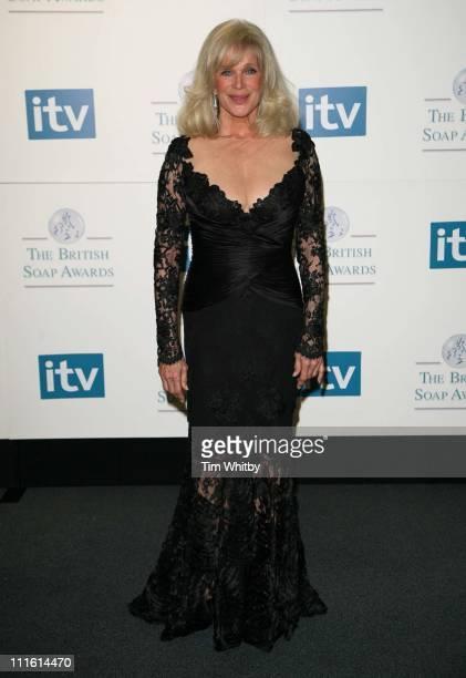 Linda Evans during British Soap Awards 2006 Press Room at BBC Television Centre in London Great Britain