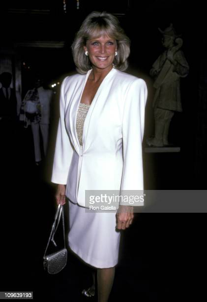 Linda Evans during Linda Evans Sighting at Jimmy's Restaurant in Beverly Hills September 17 1986 at Jimmy's Restaurant in Beverly Hills California...