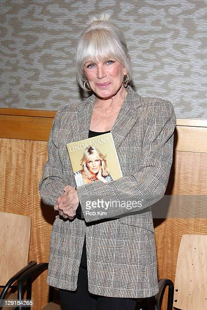 Linda Evans promotes her new book 'Recipes for Life' at Barnes Noble 86th Lexington on October 13 2011 in New York City