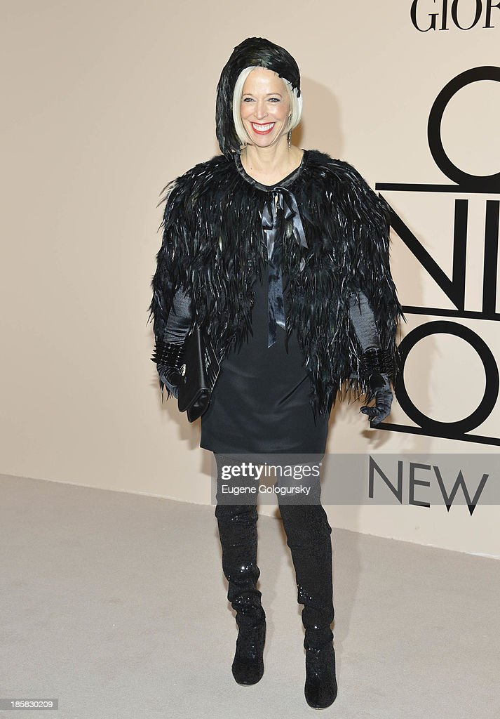 Linda Fargo attends Armani - One Night Only New York at SuperPier on October 24, 2013 in New York City.